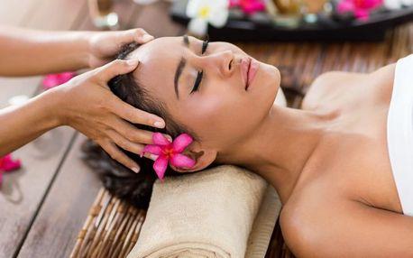 Ájurvédská masáž hlavy, dekoltu a šíje