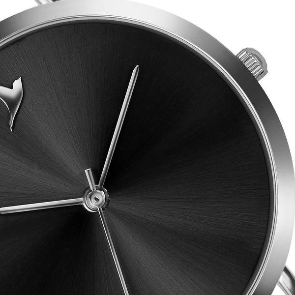 Dámské hodinky s černým páskem z nerezové oceli Emily Westwood Black4