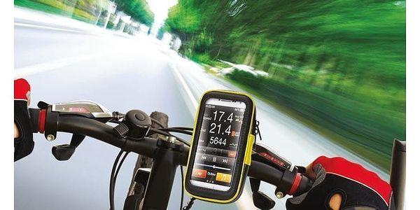 """Držák na mobil Celly FLEXBIKE voděodolný pro 6"""" na řídítka (FLEXBIKEXXL)2"""