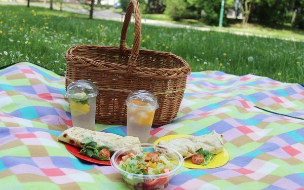 Piknik: sandwiche, saláty, grilovaný kuřecí gyros, víno i domácí limonády5