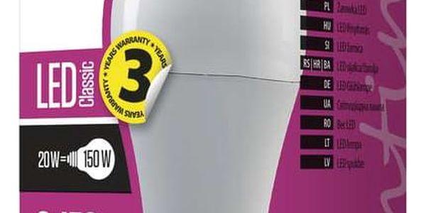 Žárovka LED EMOS klasik, 20W, E27, neutrální bílá (1525733404)2