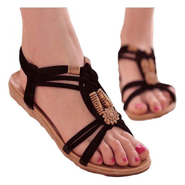 Krásné sandálky s korálky