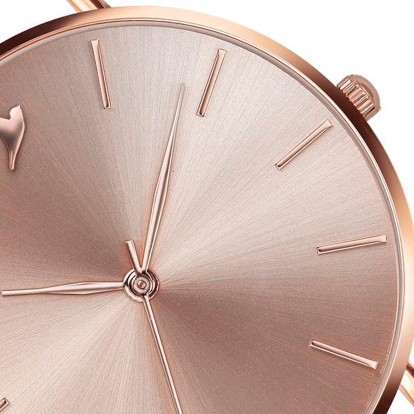Dámské hodinky s hnědým páskem z pravé kůže Emily Westwood Top - doprava zdarma!4