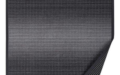 Antracitově šedý vzorovaný oboustranný koberec Narma Moka, 140 x 200cm - doprava zdarma!