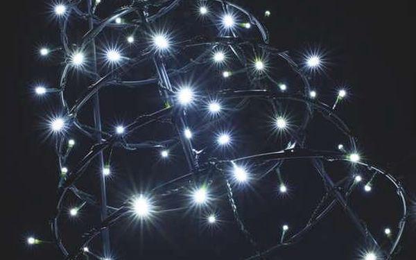 Vánoční osvětlení EMOS 240 LED, 24m, řetěz, studená bílá, časovač, i venkovní použití (1534080055)2
