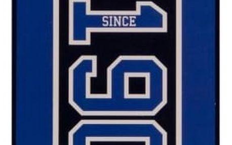 CurePink Osuška Chelsea FC: Established 70 x 140 cm modrá bavlna