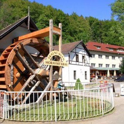 Moravský kras: Hotel Skalní Mlýn