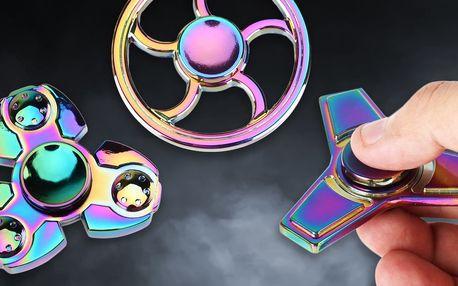 Kovový Fidget Spinner: antistresová hračka