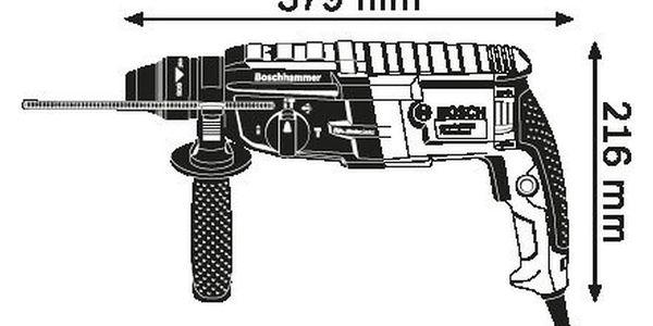 Kladivo Bosch GBH 2-28 + DOPRAVA ZDARMA5