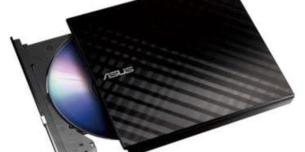 Externí DVD vypalovačka Asus SDRW-08D2S Lite (90-DQ0435-UA221KZ) černá2