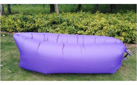 Samonafukovací pytel Lazy Bag, fialová
