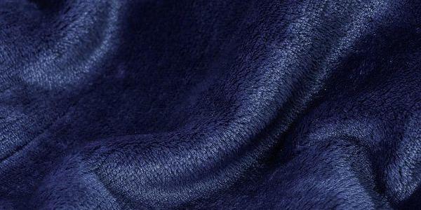 JAHU Deka XXL / Přehoz na postel tmavě modrá, 200 x 220 cm4
