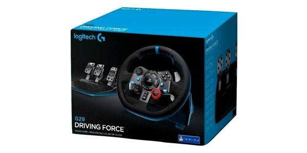 Volant Logitech G29 Driving Force pro PS3, PS4, PC + pedály (941-000112) černý3