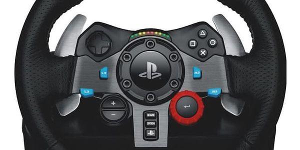 Volant Logitech G29 Driving Force pro PS3, PS4, PC + pedály (941-000112) černý4