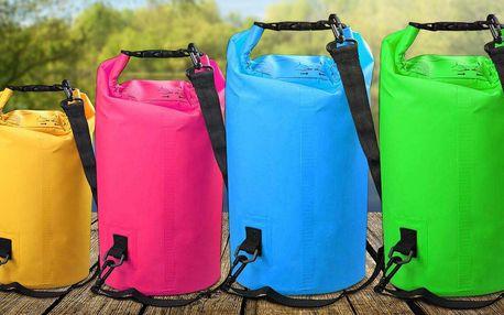 Vodotěsné vaky: 6 různých barev, 3 velikosti