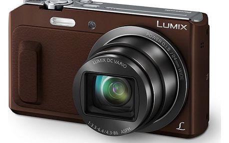 Digitální fotoaparát Panasonic Lumix DMC-TZ57EP-T hnědý