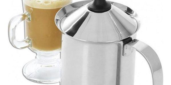 Orion Šlehač na cappuccino nerez 0,5l2