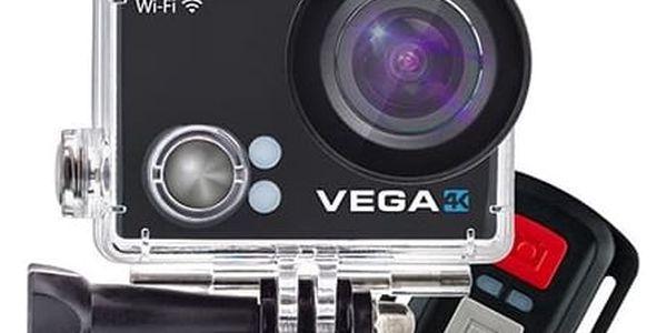 Outdoorová kamera Niceboy VEGA 4K černá