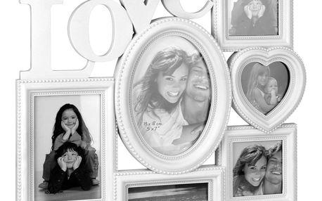 Home Styling Collection Fotorámeček LOVE, mini galerie na fotky