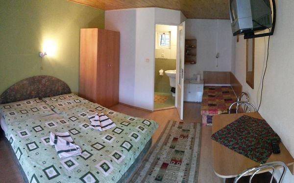 Dvoulůžkový pokoj s manželskou postelí a terasou2