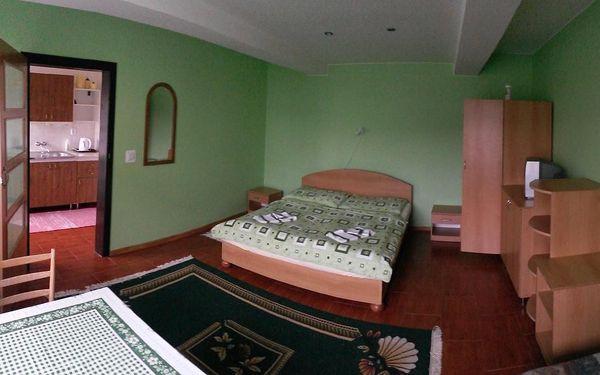 Dvoulůžkový pokoj s manželskou postelí a terasou5