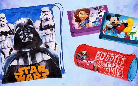 Penály, peněženky a vaky s motivy Disney