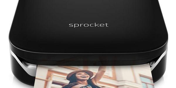 Fototiskárna HP Sprocket Photo Printer (Z3Z92A#633) černá2