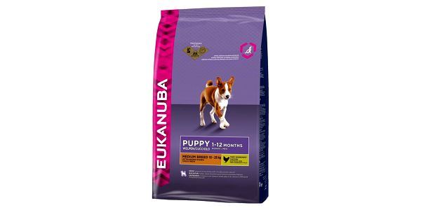 Granule Eukanuba Puppy & Junior Medium Breed 15 kg + Doprava zdarma2