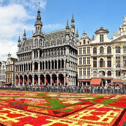 Bruggy, Gent i Brusel s květinovým kobercem