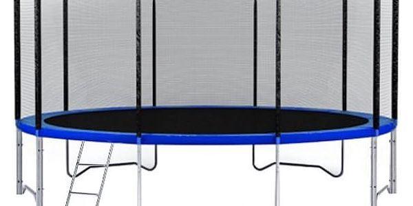 Trampolína DUVLAN 457 cm + ochranná síť + schůdky