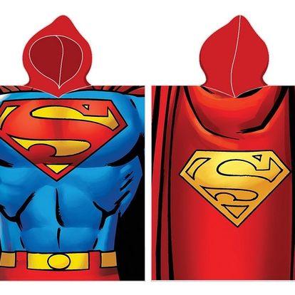 BedTex Dětské pončo Superman, 50 x 100 cm