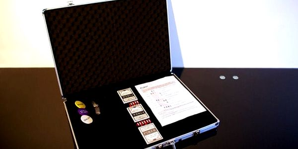 Garthen 491 Hliníkový kufr na 1000ks žetonů s příslušenstvím2