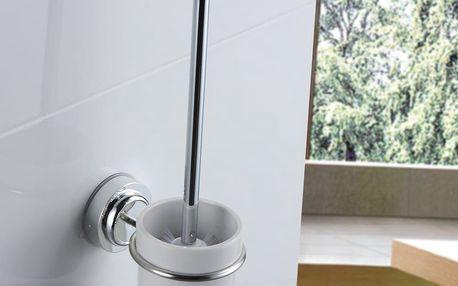 Nástěnný toaletní kartáč bez nutnosti vrtání ZOSO Brush