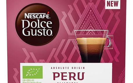 Kapsle pro espressa NESCAFÉ Dolce Gusto® Peru Cajamarca Espresso kávové kapsle 12 ks