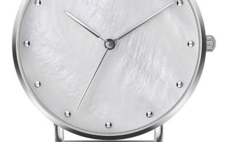 Dámské hodinky s páskem z nerezové oceli ve stříbrné barvě Emily Westwood Light