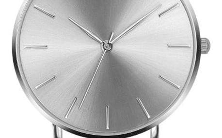 Dámské hodinky s bílým páskem z pravé kůže Emily Westwood Luxury