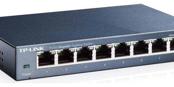 Switch TP-Link TL-SG108 (TL-SG108) 8 port, Gigabit3