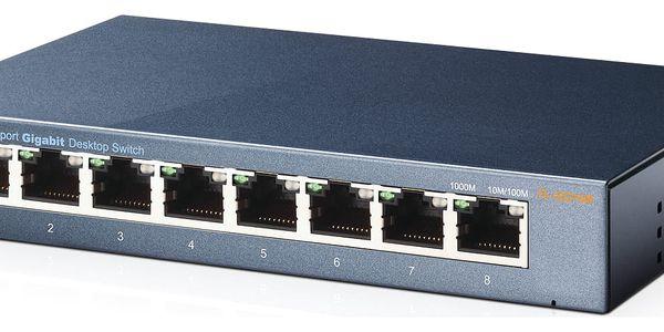 Switch TP-Link TL-SG108 (TL-SG108) 8 port, Gigabit4
