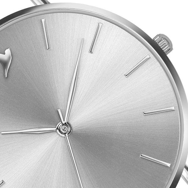 Dámské hodinky s bílým páskem z pravé kůže Emily Westwood Luxury4