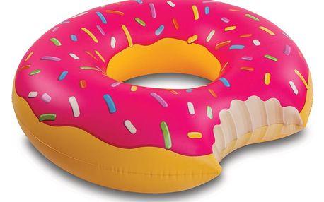 Nafukovací kruh ve tvaru donutu Big Mouth Inc.