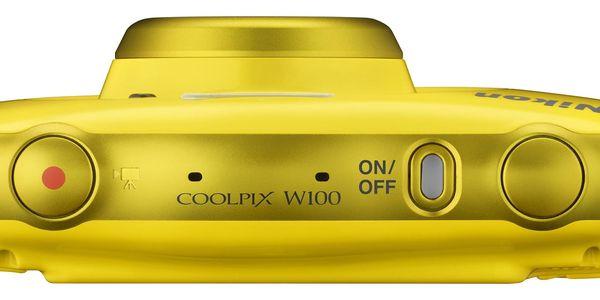 Digitální fotoaparát Nikon W100 BACKPACK KIT (VQA013K001) žlutý + DOPRAVA ZDARMA3