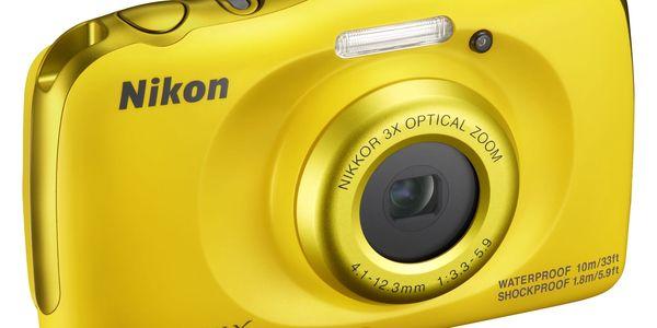 Digitální fotoaparát Nikon W100 BACKPACK KIT (VQA013K001) žlutý + DOPRAVA ZDARMA4