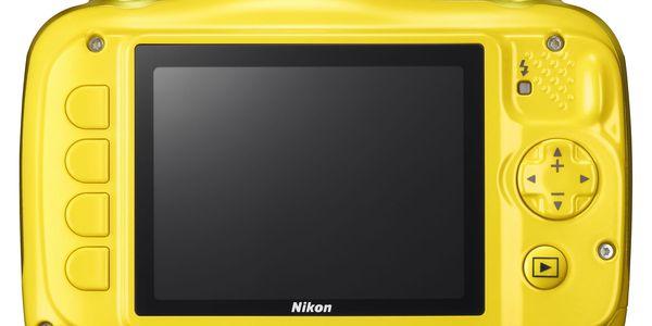 Digitální fotoaparát Nikon W100 BACKPACK KIT (VQA013K001) žlutý + DOPRAVA ZDARMA5