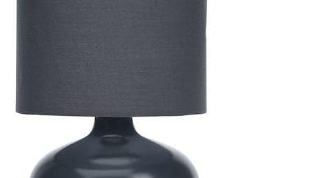 Home Styling Collection Lampička stolní, keramická - barva černá