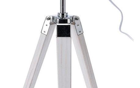 Emako Stojací lampička INDUSTRIAL LOOK, nerezová ocel, 64x16 cm
