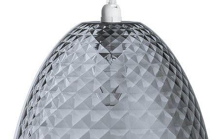 Plastické stropní svítidlo v šedé barvě STELLA, 26x18 cm, KOZIOL