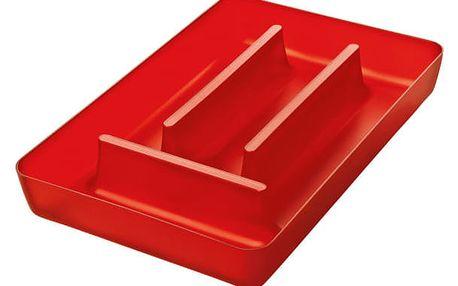 Kontejner na příbory RIO - barva červená, KOZIOL