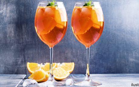 2 nebo 4 osvěžující drinky Aperol Spritz
