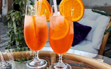2x osvěžující Aperol Spritz s pomerančem