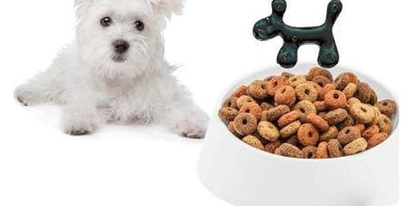 Miska na žrádlo pro psa WOW - barva bílá, KOZIOL2
